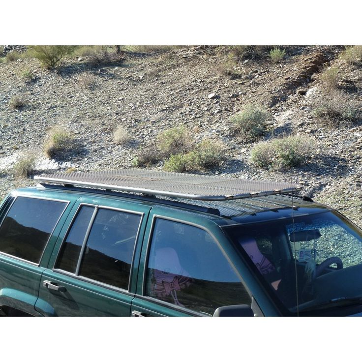 Jeep Cherokee XJ Platform Roof Rack - Overland-ready.com offers the best Jeep Cherokee XJ Platform Roof Rack fits for all models belongs to 1995 and up XJ's only!