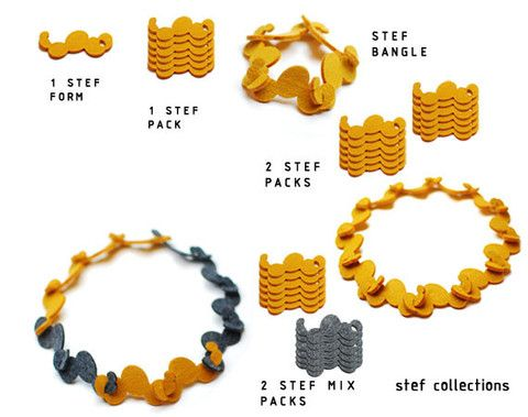 Modular necklace | Stef Collections
