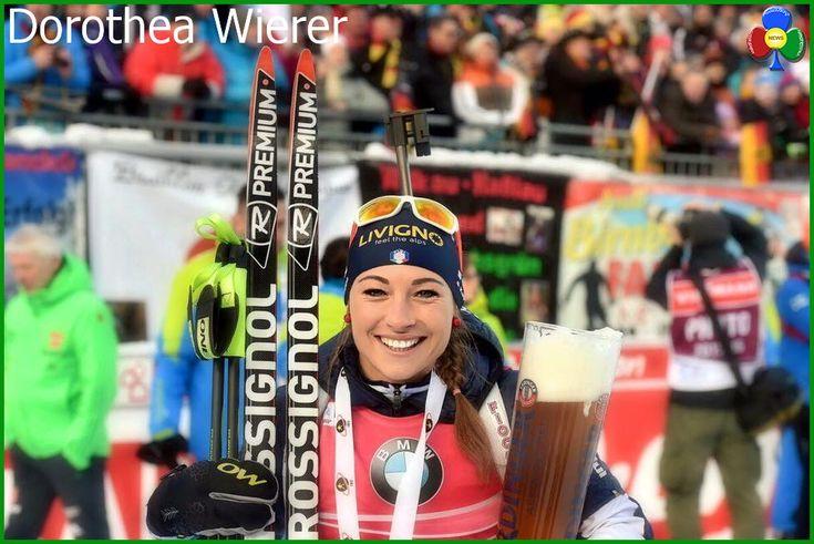 Dorothea Wierer centra il secondo oro nel biathlon a Ruhpolding