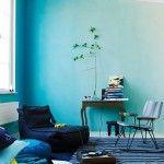 batik duvar boyama ornekleri iki renkli duvar boyasi dalgali duvarlar mavi