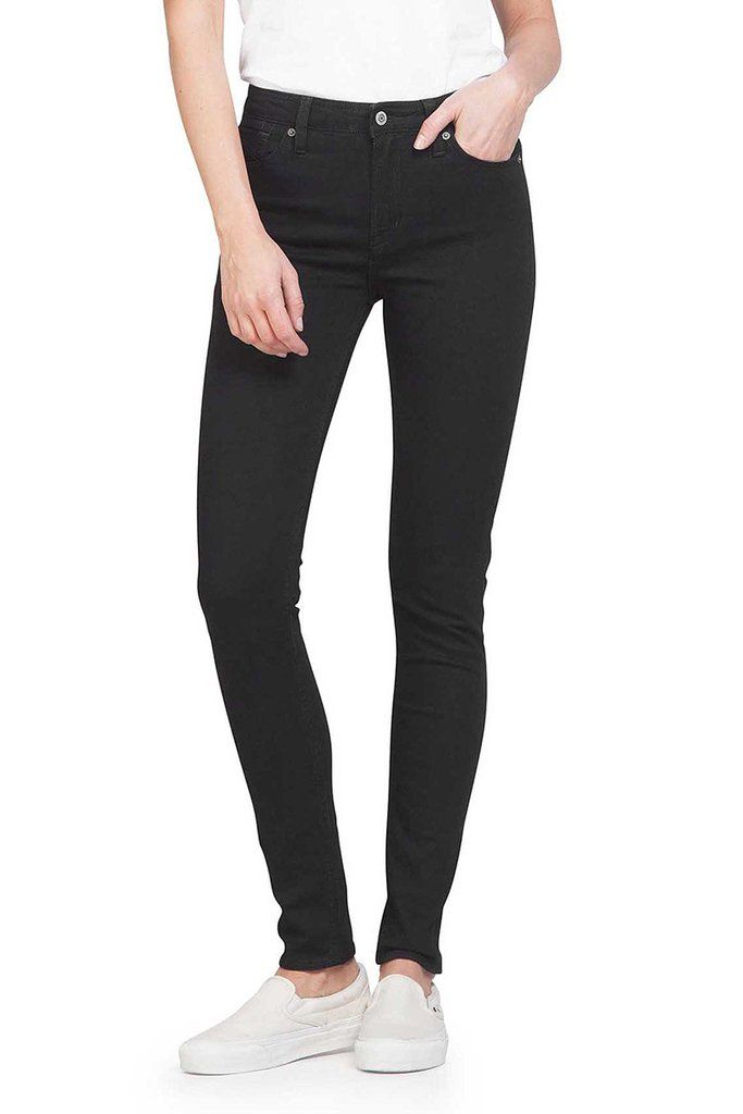 Kings of Indigo Christina black rinse jeans | Sophie Stone