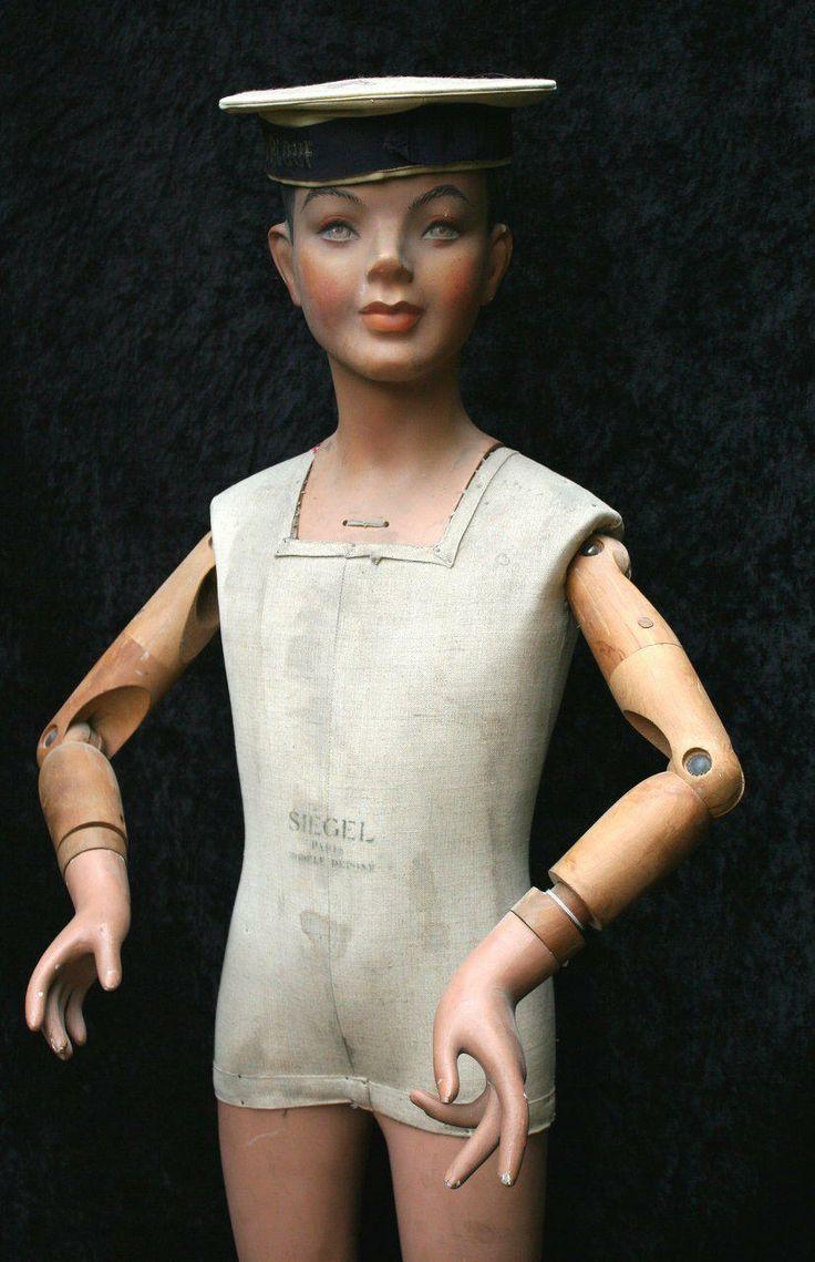 1930 Siegel Child Mannequin