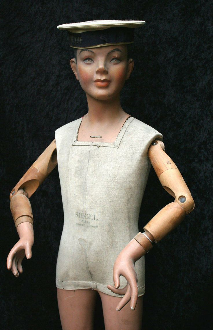 1930 Siegel Child Mannequin