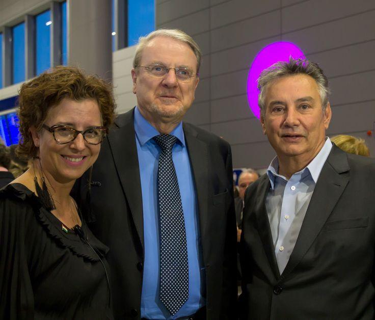 Agnes Farkasvelgyi, Márcio Lacerda e Paulo Navarro