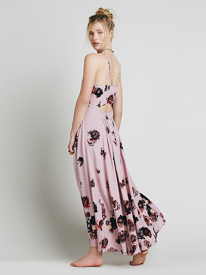 Free People Marigold Monday Printed Maxi Dress at Free People Clothing Boutique
