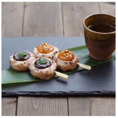 お赤飯で五平餅* by yumiさん | レシピブログ - 料理ブログのレシピ満載!