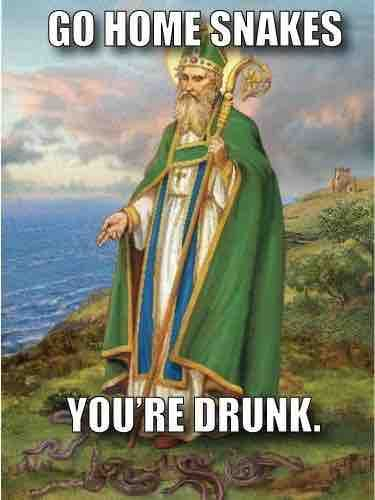 Let us not forget the real reason for St. Patrick's Day.