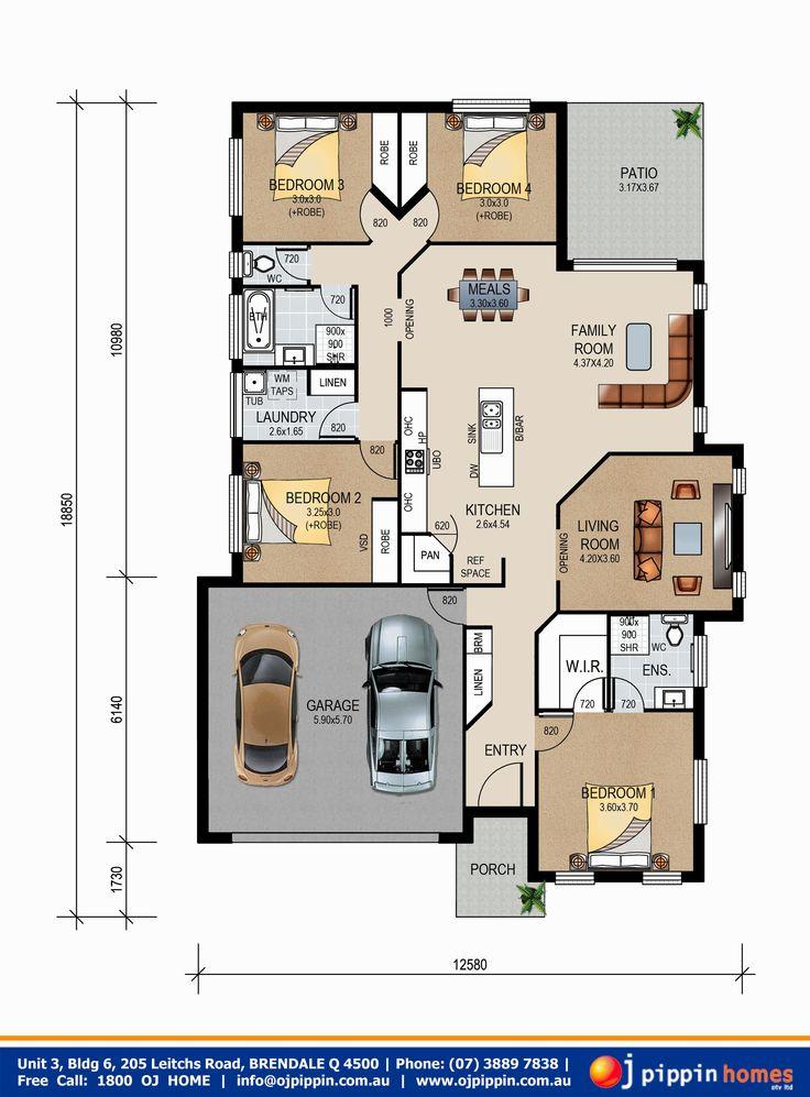 Crest 200 - Floor plan
