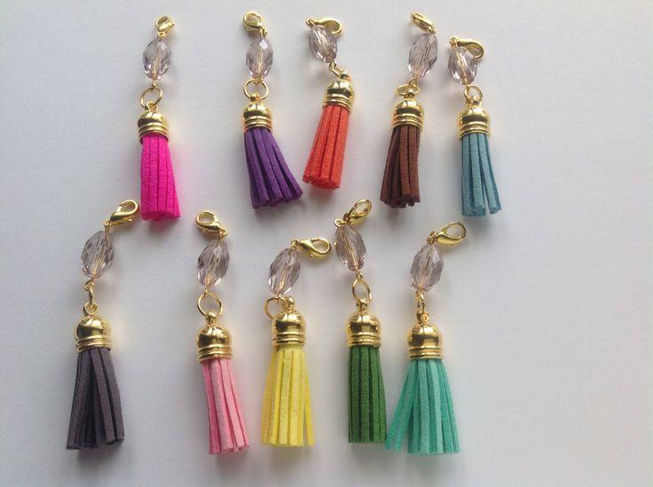 Leuke tashangers in diverse kleuren