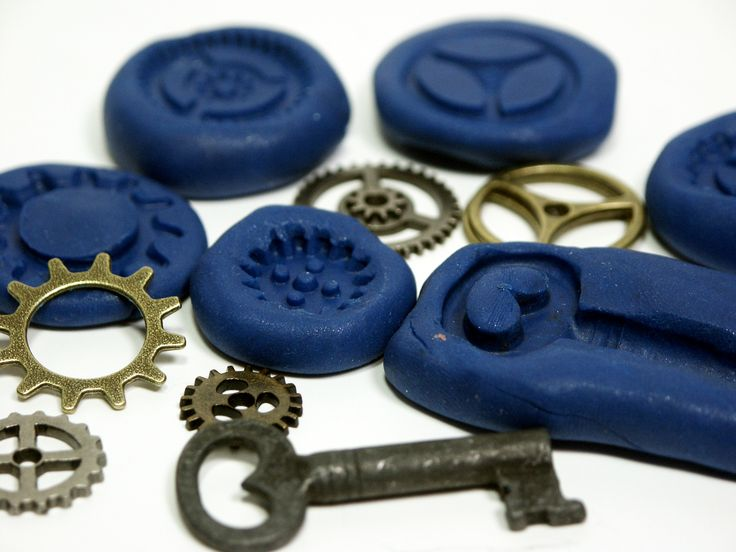 How to make cheap flexible molds for embellishments.