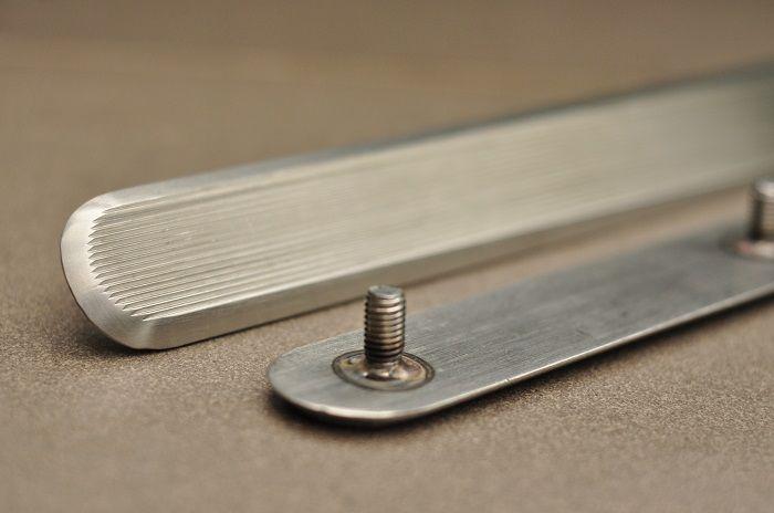 rozsdamentes vakvezető elem / stainless steel tactile bar