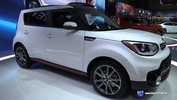 2017 KIA Soul Turbo - Exterior and Interior Walkaround - Debut at 2016 L...