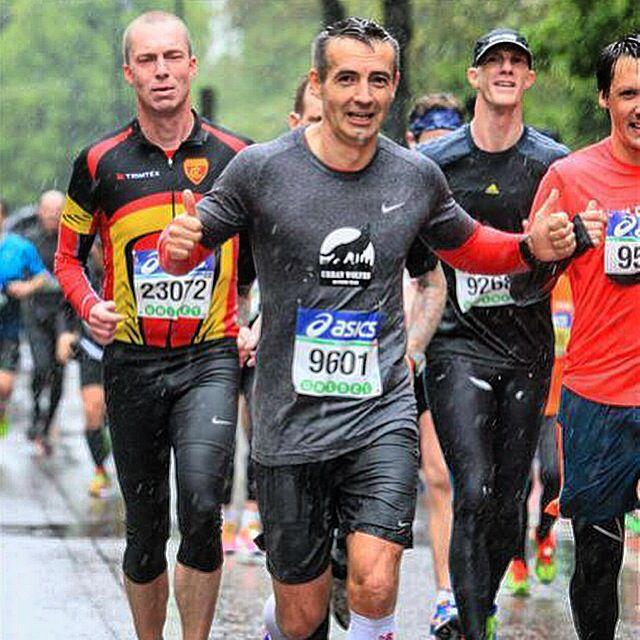 Piotr Golos. Asics Stockholm Marathon. 3:55:02