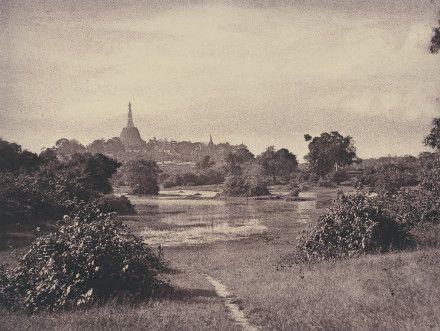 Burma, now Myanmar - 'Rangoon: View near the Lake' November 1855 © National Gallery of Art, Washington. Diana and Mallory Walker Fund