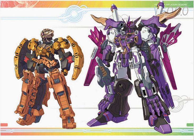 V Gundam x Kamen Rider OOO MEGA: MAX - Fanmade Images - Gundam Kits Collection News and Reviews