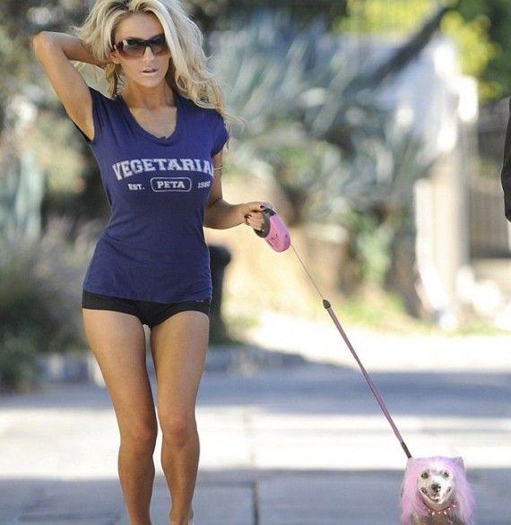 I too walk my dog in my underwear.
