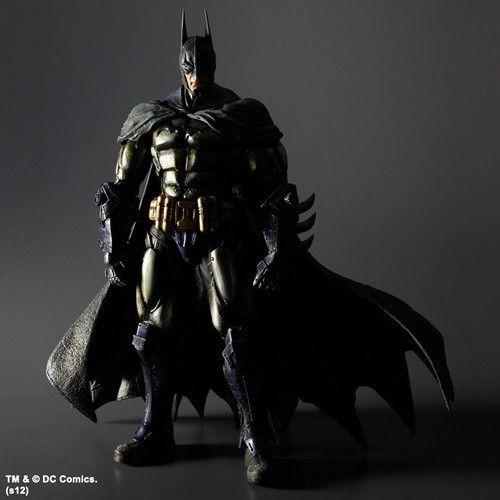 Batman Arkham Asylum Play Arts Kai Action Figure Batman Armored 23 cm