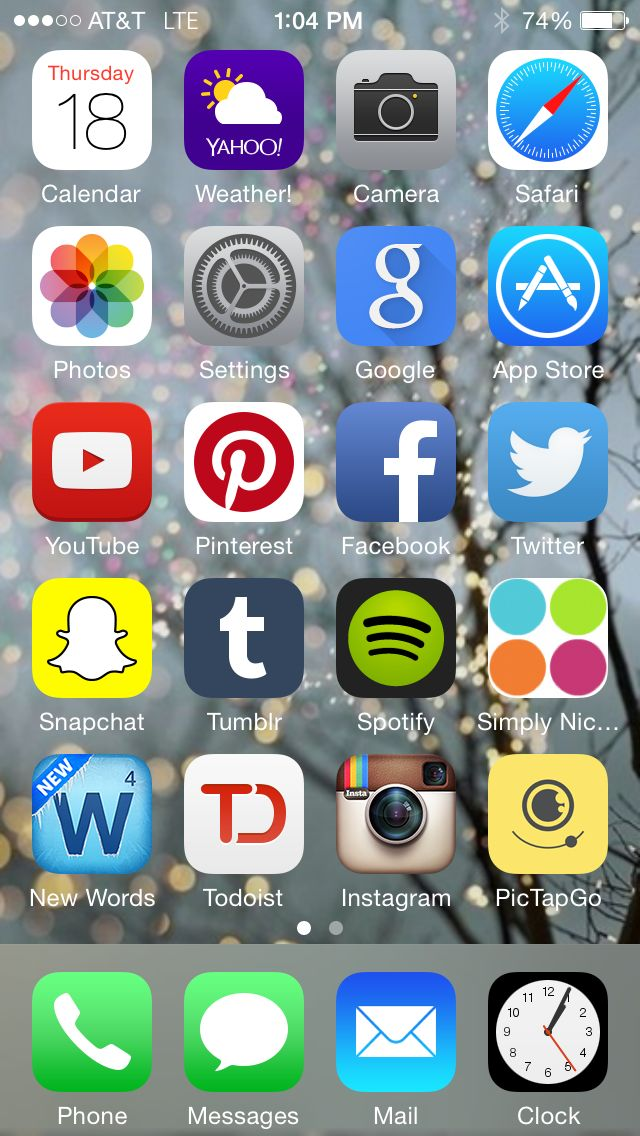 What's on My iPhone Whats on my iphone, Organize apps on