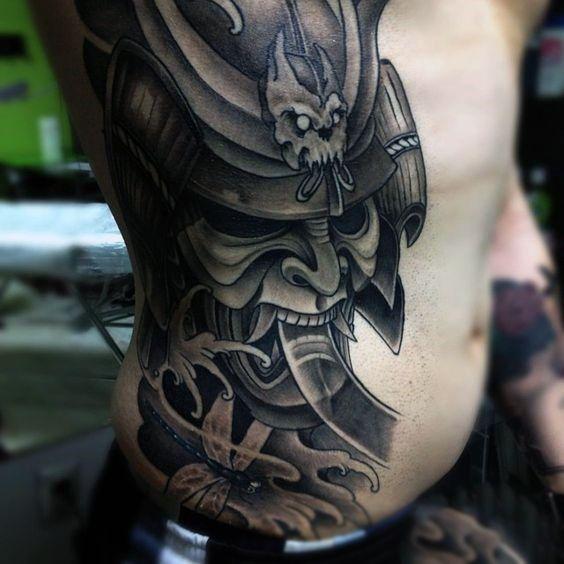 17 melhores ideias sobre samurai mask tattoo no pinterest for Table no 21 tattoo