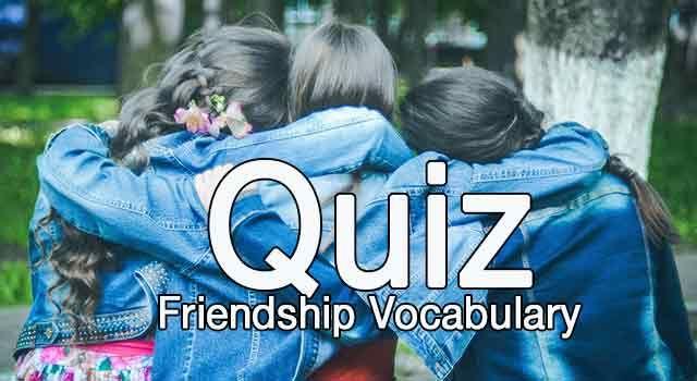 8. Sınıf Upturn in English kitabı Friendship ünitesi A-B gruplu kelime quizini bu bağlantıdan PDF formatında indirebilirsiniz...