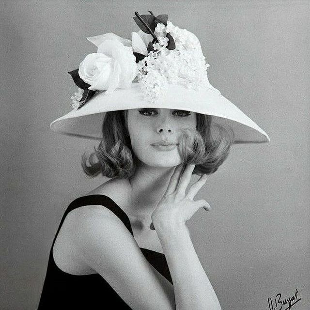 Photo by Jean-Jacques Bugat, Vogue France, 1960