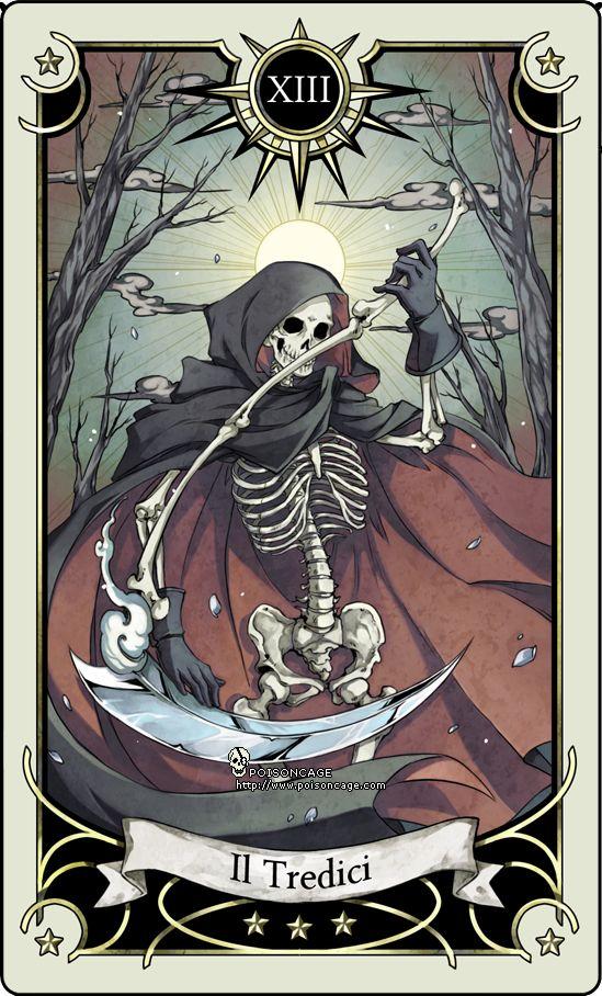 Tarot Card 13- The Death By Rann-poisoncage.deviantart.com