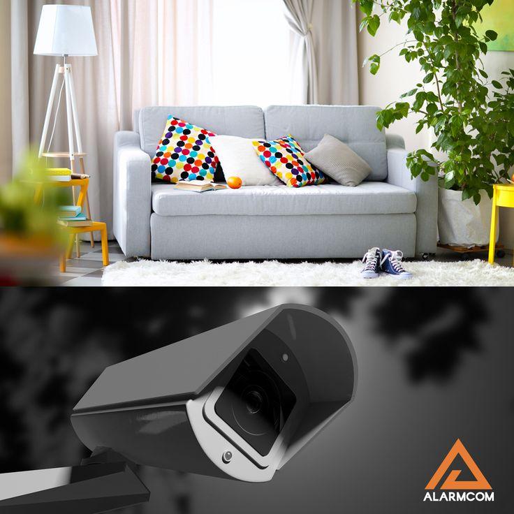 Alarmcom Akıllı Güvenlik Sistemleri ile eviniz emin ellerde.