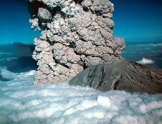 Eruption of Mount St. Helens in 1980