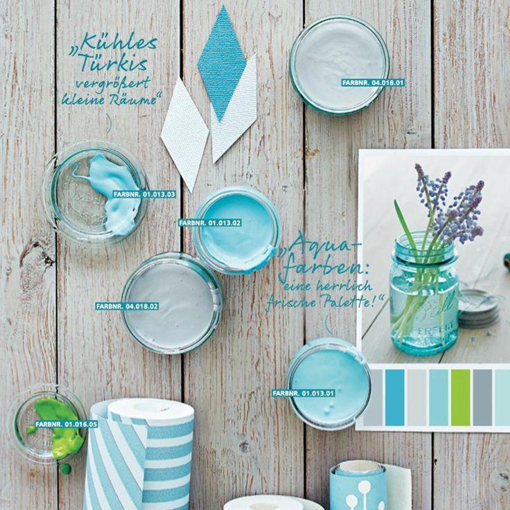 ➥ Mit diesen Wandfarben, den richtigen Farben bei Möbeln und Dekoration kannst du die Raumwirkung positiv beeinflussen.