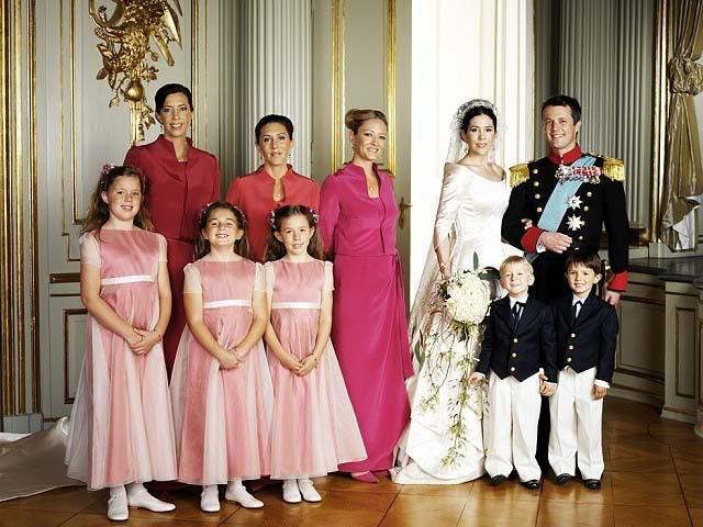 Crown Prince Frederik Princess Mary Of Denmark Wedding