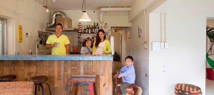 海辺の暮らしを満喫海辺の古い一軒家を自分らしく再生。