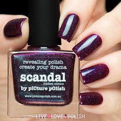 Picture Polish Scandal Nail Polish (Limited Edition Collection) - PRE-ORDER   SHIPS 07/15/15