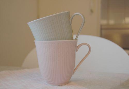 Rorstrand 'swedish grace' design mugs
