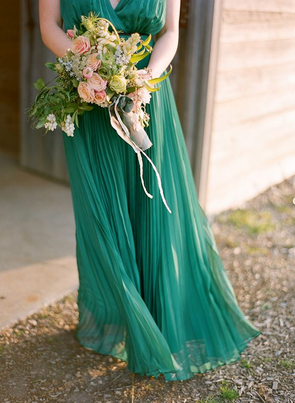 155 best images about gold and emerald wedding colors on for Emerald green wedding dress
