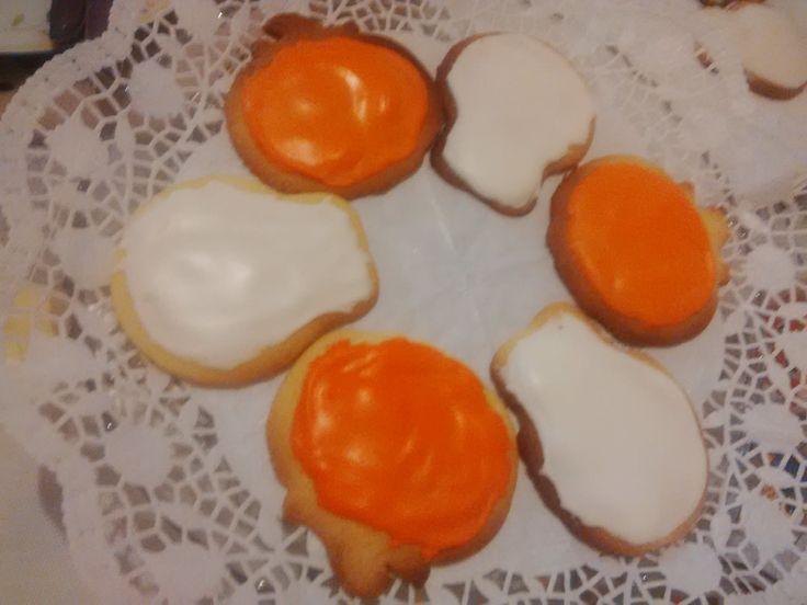 Biscotti di Halloween glassati u.u