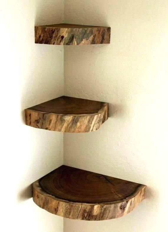35 Amazing Corner Shelves Design Ideas With Images Wooden