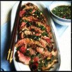 Thaise+biefstuk+salade