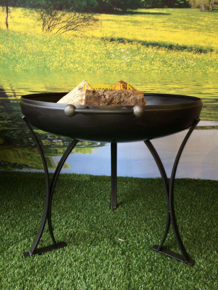 The Range Fire Pit Part - 30: The Simply Curved Range - IronWorksuk By Marcos Antonio Handcrafted Uk Fire  Pits