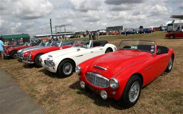 Ten of the best British sports cars. Is yours on the list?   Join us for the next British Car Day at the Brunswick Library, Aug. 9th, and maybe you'll see it in person.