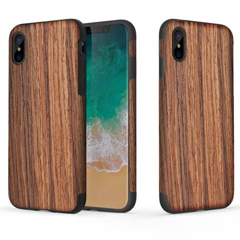 Wood Grain Texture Cover Case For IPhone X Rosewood Awesome IPhone 10  IPhone X Apple Products