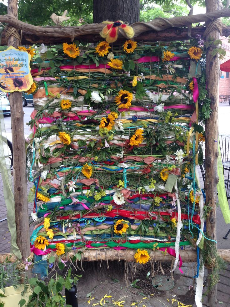 Summer Solstice Community Earth Loom
