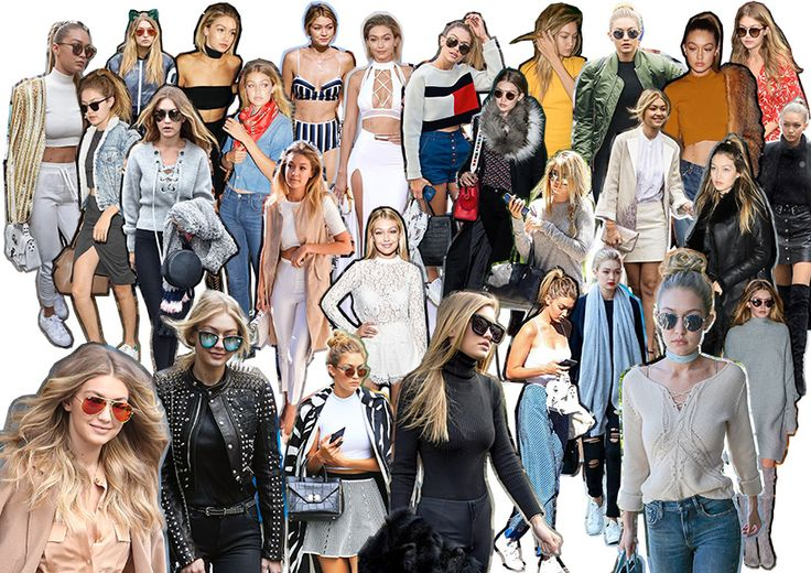 THE FASHION SUNDAE: Muse Of The Month: #GigiHadid