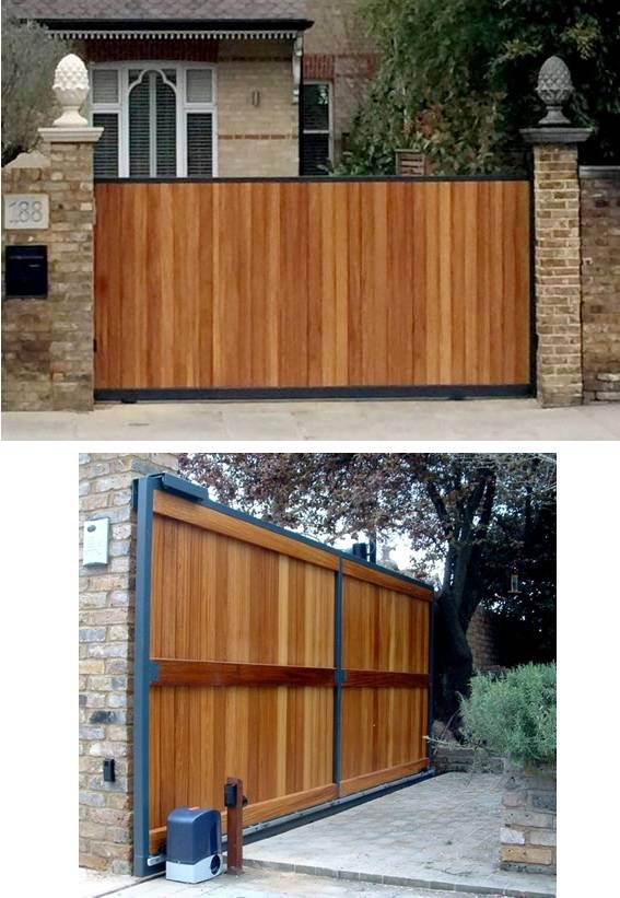 Best 25 Sliding Gate Ideas On Pinterest Sliding Fence