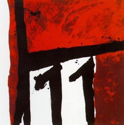 ROBERT MOTHERWELL - Mexican Night