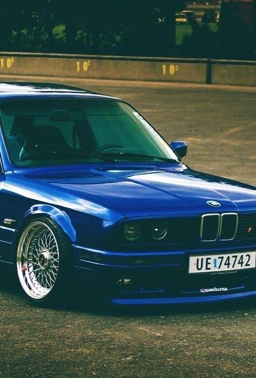 BMW E30 on BBS...