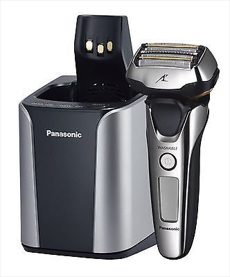 Panasonic Shaver Lam Dash ES-LV9B-S 5-blade Silver & Extra cleaning agents