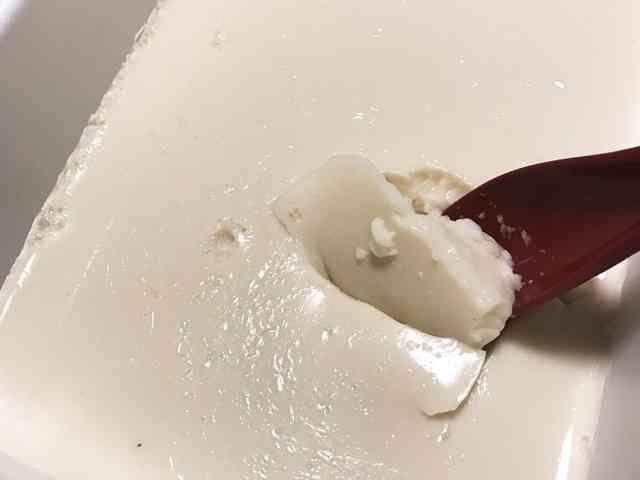 ゼラチンで!すぐに作れる簡単手作り豆腐の画像