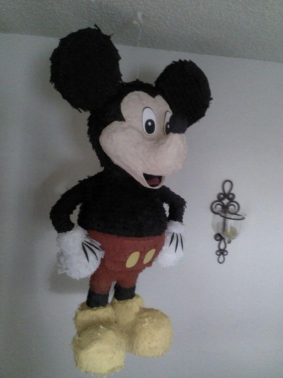 Mickey Mouse Pinata by SmashingFunCreations on Etsy, $65.00