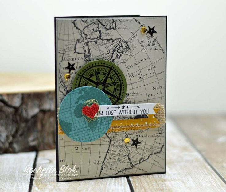 The Stamping Blok: Can You Case It? #104- Sketch Challenge - Rochelle Blok #goingglobal #goingplaces #stampinup