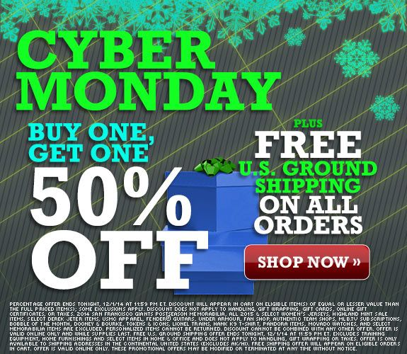 MLB Shop Cyber Monday